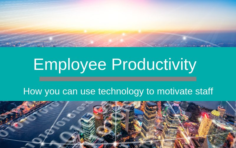 Increasing employee productivity through technology