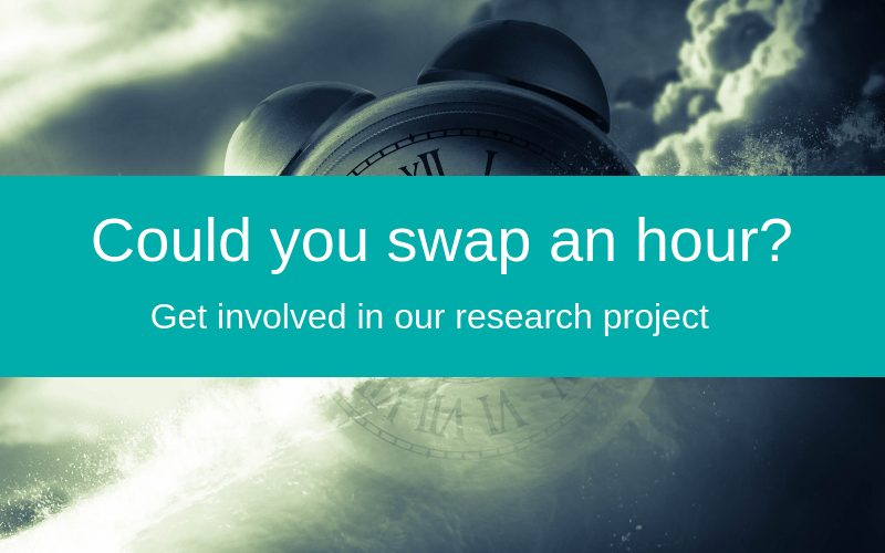 Swap an hour with our research project