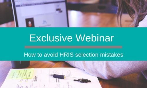 Avoid HRIS selection mistakes webinar with CIPHR