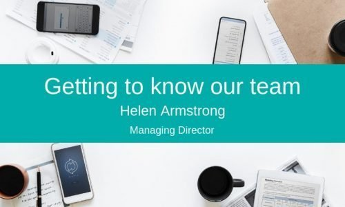 Meet Helen Armstrong, our Managing Director
