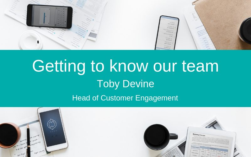 Meet Toby Devine, Silver Cloud HR's Head of Customer Engagement