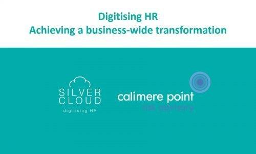 Webinar: HR analytics and business wide transformation