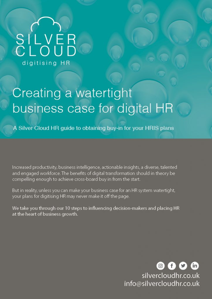 How to make a business case for digital hr (HRIS)