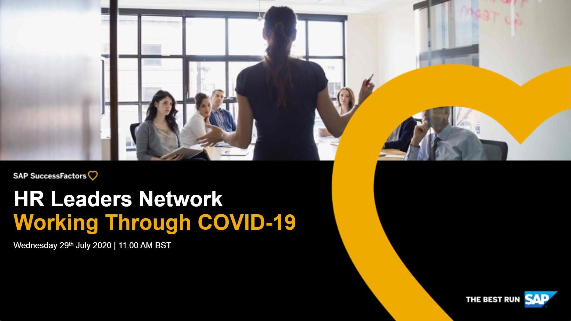 HR Leaders Network - SAP SuccessFactors